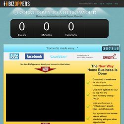 The social network for network marketers. - BizOppers.com