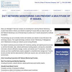 remote network monitoring service Atlanta