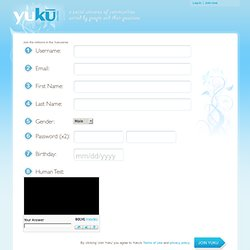 Join a Social Network on Yuku | Free forums, social networks, communities, chat rooms
