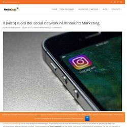 Il (vero) ruolo dei social network nel processo di Inbound Marketing