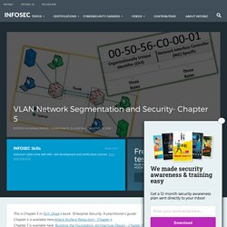 VLAN Network Segmentation and Security- Chapter 5