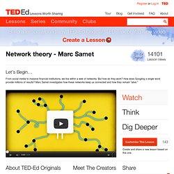 Network Theory - Marc Samet