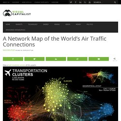 A Network Map of the World's Air Traffic Connections