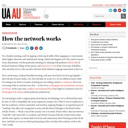 How the network works
