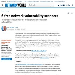 6 free network vulnerability scanners