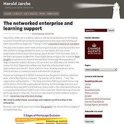 The networked enterprise and learning support
