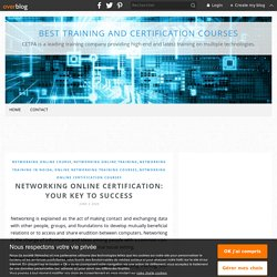 Networking Online Certification: Your Key To Success