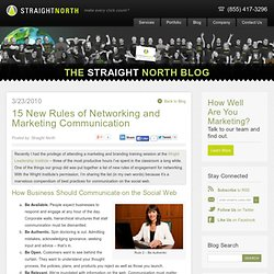 15 New Rules of Networking and Marketing Communication | Word Se