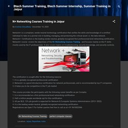 N+ Networking Courses Training in Jaipur