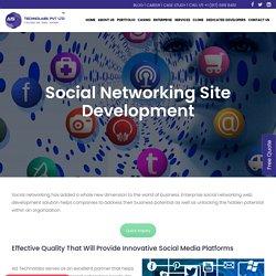 Social Networking Site Development - Social Network Web Design