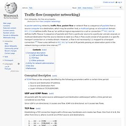 Traffic flow (computer networking)