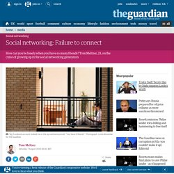 Social networking: Failure to connect | Media