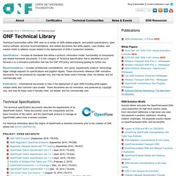 ONF Technical Library - Open Networking Foundation