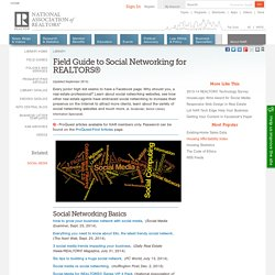 Field Guide to Social Networking for REALTORS®