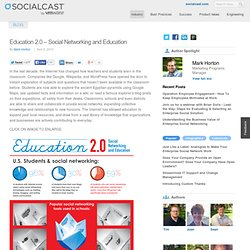 Education 2.0 ? Social Networking and Education | Knowledge Is Social