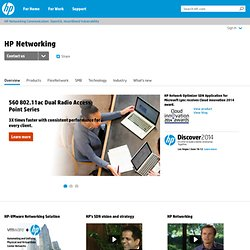 Networking: switches, routers, wired, wireless, HP TippingPoint Security-Namoroka