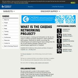 What is the CAQDAS Networking Project?