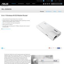 - Networks- ASUS WL-330N3G