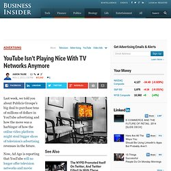 YouTube Offers TV Networks New Contract Terms