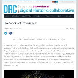 Networks of Experiences