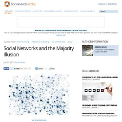 Social Networks and the Majority Illusion