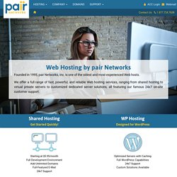 pair Networks - World Class Web Hosting®
