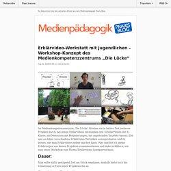 Neues vom Medienpädagogik Praxis-Blog vom 08/21/2018