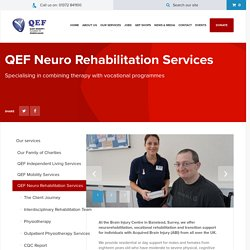 QEF Neuro Rehabilitation Services