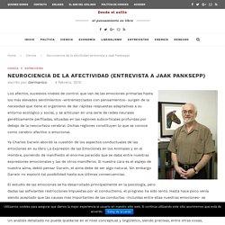 Neurociencia de la afectividad (entrevista a Jaak Panksepp)