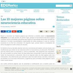 Las 10 mejores páginas sobre neurociencia educativa - EDUforics
