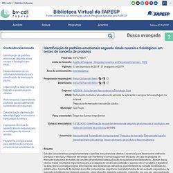 Auxílio à pesquisa 18/07466-9 - Neurociências, Aprendizado computacional - BV FAPESP