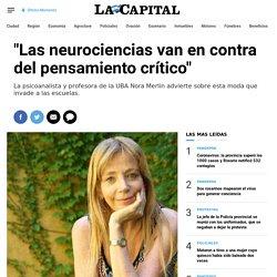Las neurociencias van en contra del pensamiento crítico