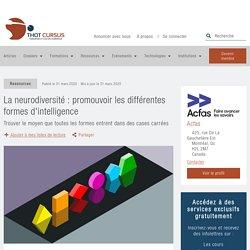 La neurodiversité : promouvoir les différentes formes d'intelligence - Thot Cursus