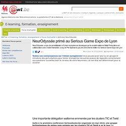 NeurOdyssée primé au Serious Game Expo de Lyon
