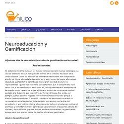 Neuroeducación y Gamificación