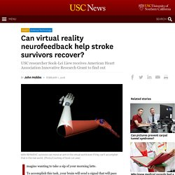 Can virtual reality neurofeedback help stroke survivors recover?