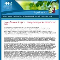 La neurofibromatose de type 2 : Renseignements pour les patients et leur famille.