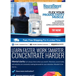 Neuroflexyn - focus, memory and concentration formula - neuroflexyn.com