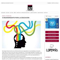 10 neuroinsights para la educación
