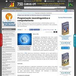 Programação neurolinguística e comportamento » Artigos que abordam as diversas áreas do conhecimento » Portal CPT