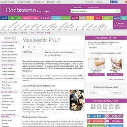 Programmation neurolinguistique - Vous avez dit PNL?