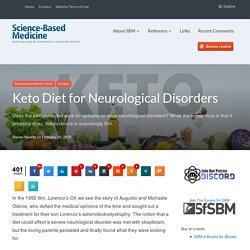 Keto Diet for Neurological Disorders