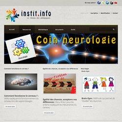 Coin Neurologie - Une thématique pédagogique sur instit.info
