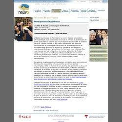 L'Institut et hôpital neurologiques de Montréal - Renseignements généraux