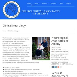 Clinical Neurology Albany