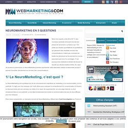 Neuromarketing en 5 questions