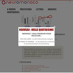 30: Neuromarketing : Application Pratique