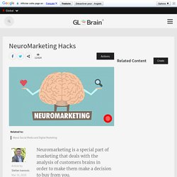 NeuroMarketing Hacks - Article - GLBrain.com