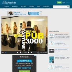 Le Neuromarketing En Bref - agence-de-publicité Montréal - Business