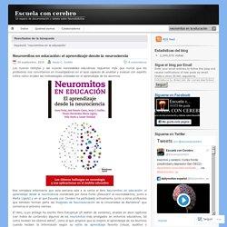 neuromitos en la educación